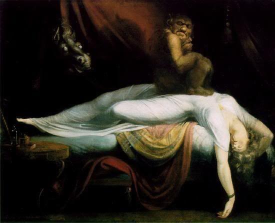 La parálisis del sueño y los miedos del dormitorio
